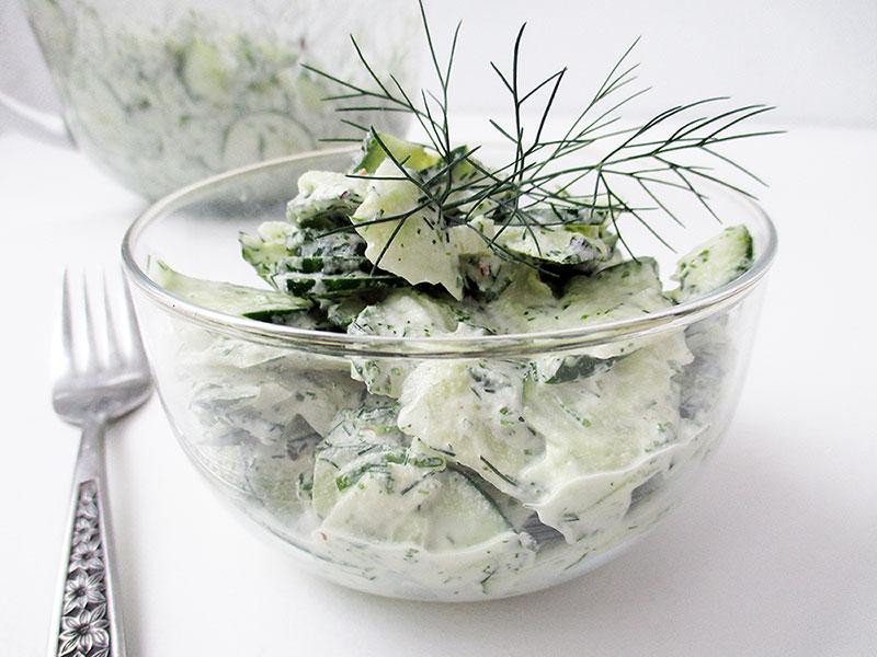 Creamy Dill Salad Dressing Vegan