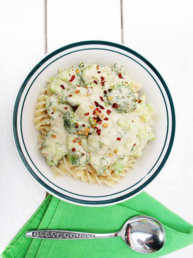 Cremige Brokkoli Sauce Vegan Glutenfrei 1