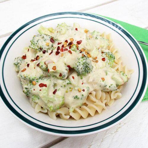 Cremige Brokkoli Sauce Vegan Glutenfrei 2 1