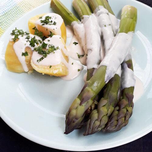 Rezept Vegane Spargel Hollandaise Sauce 2