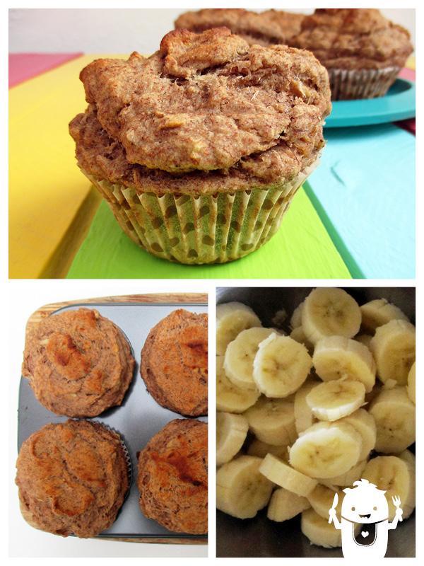 Vegan Gluten-free Banana Muffins