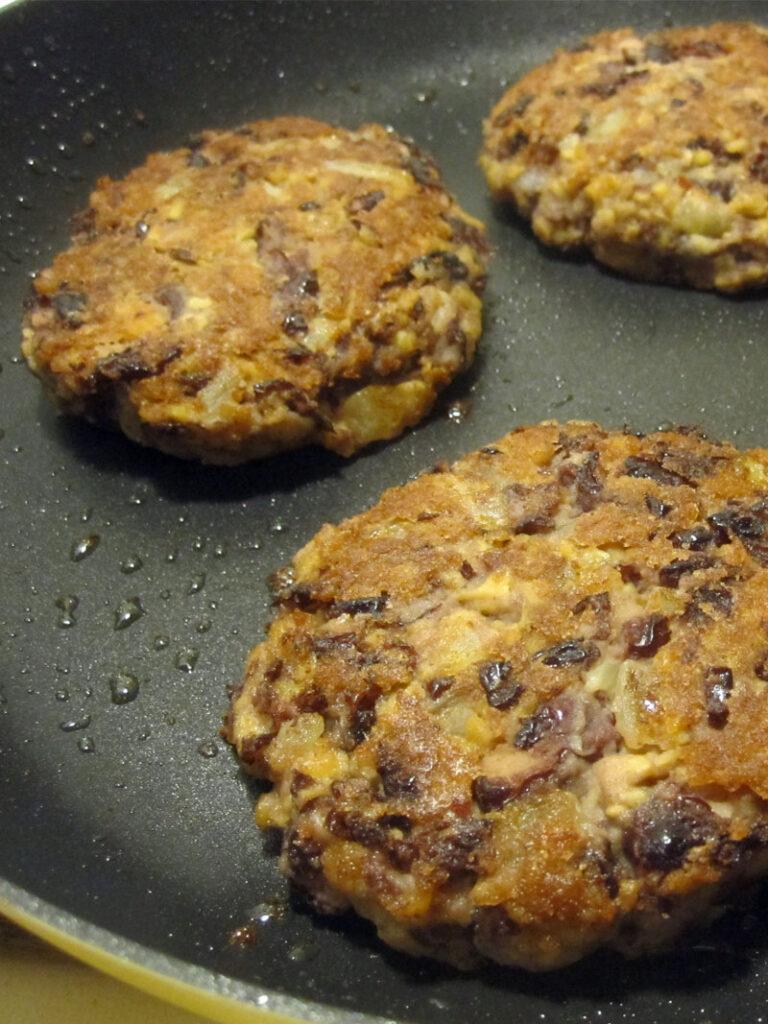 Kidneybohnen Soja Burger Vegan Glutenfrei Rezept