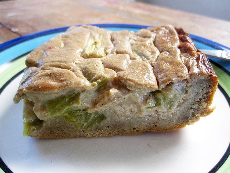 Rhubarb Cake Recipe Vegan Gluten free
