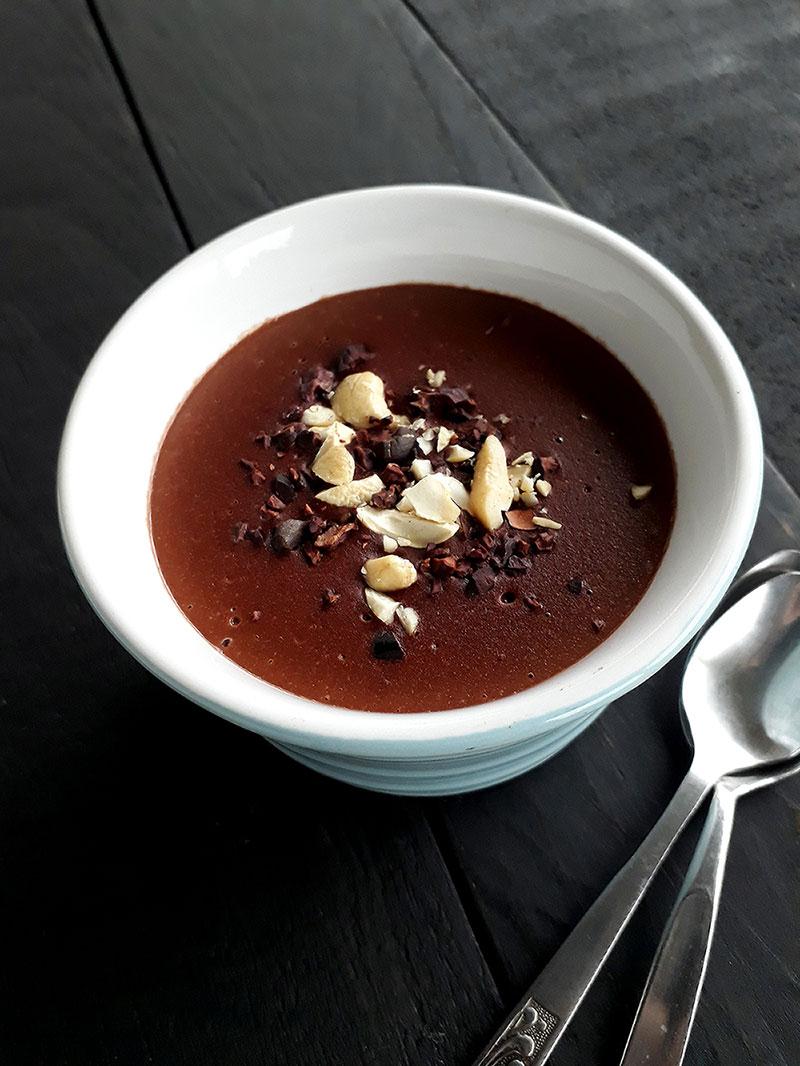 Schoko Pudding Vegan Glutenfrei Rezept