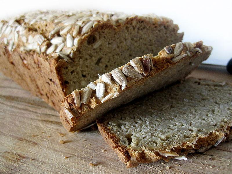 Sunflower Seed Bread Vegan Gluten free