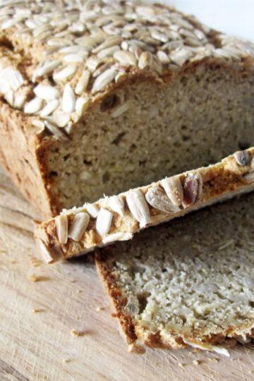 Veganes Glutenfreies Sonnenblumenkern Brot Rezept