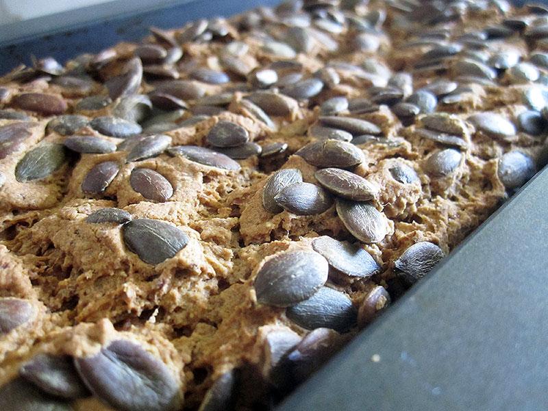Kuerbis Kern Brot Vegan Glutenfrei Rezept 2