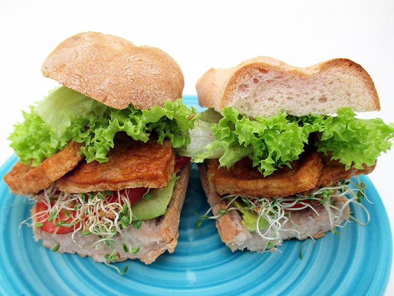 Vegan Gluten free Smoky Tofu Strips 2