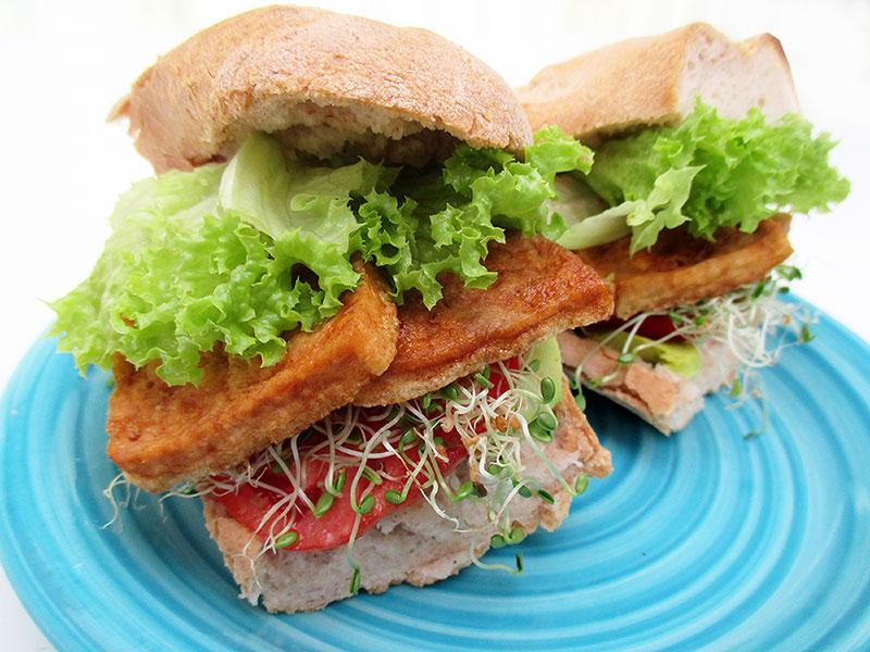 Vegan Gluten free Smoky Tofu Strips 3