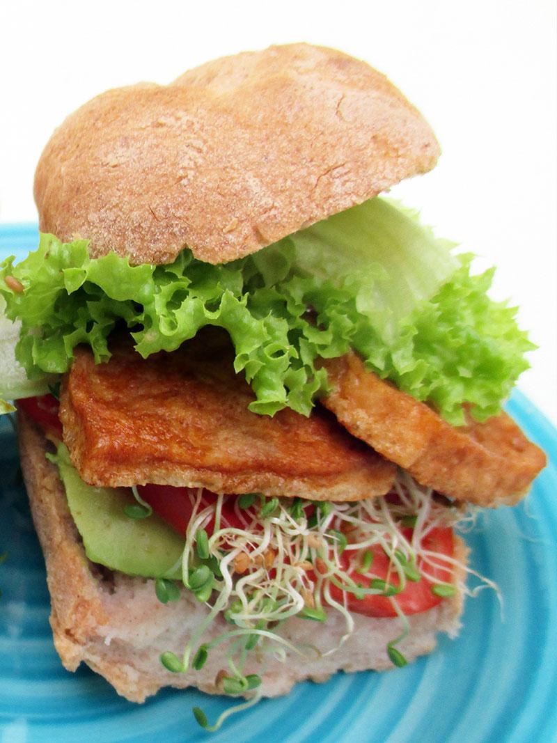 Vegan Gluten free Smoky Tofu Strips