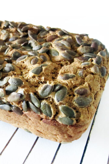 Veganes Glutenfreies Kuerbis Kern Brot 4 1