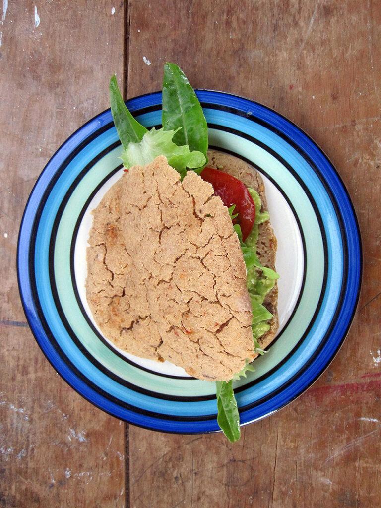 Vegan Gluten free Flat Bread Recipe 3