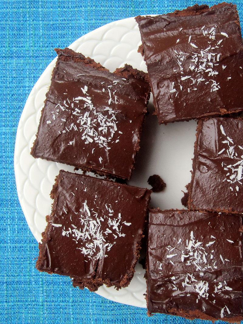Vegan and Gluten-free Chocolate Mud Cake