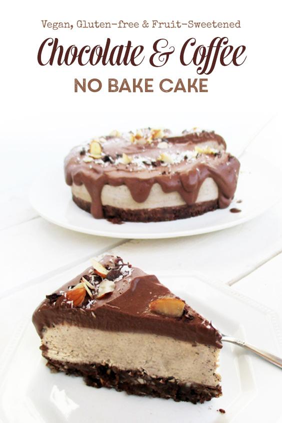 Vegan Gluten free No Bake Coffee Cake P2