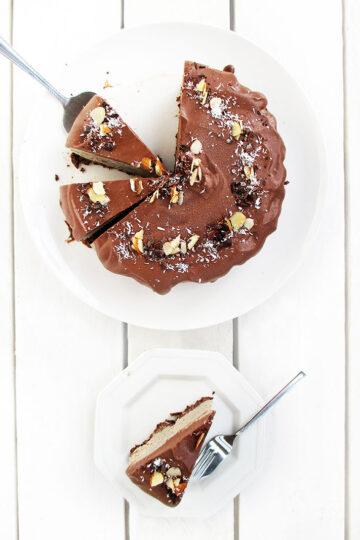 Vegan Glutenfrei Kaffee Torte Ohne Backen 1