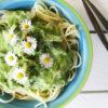 Vegane Glutenfreie Cremige Pilz Mangold Pasta Sosse Ohne Milch Rezept 4 1