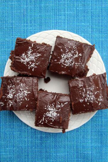Veganer Glutenfreier Schoko Kuchen Rezept 1