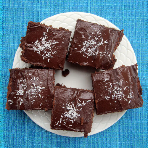 Veganer Glutenfreier Schoko Kuchen Rezept 2