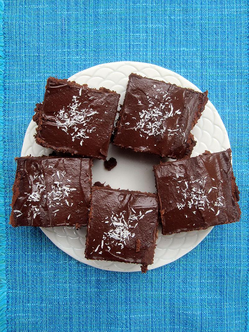 Saftiger Schokoladenkuchen ohne Gluten
