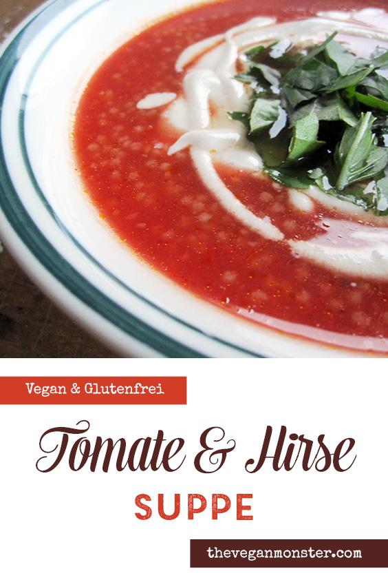 Vegane Tomaten Hirse Suppe Rezept P2