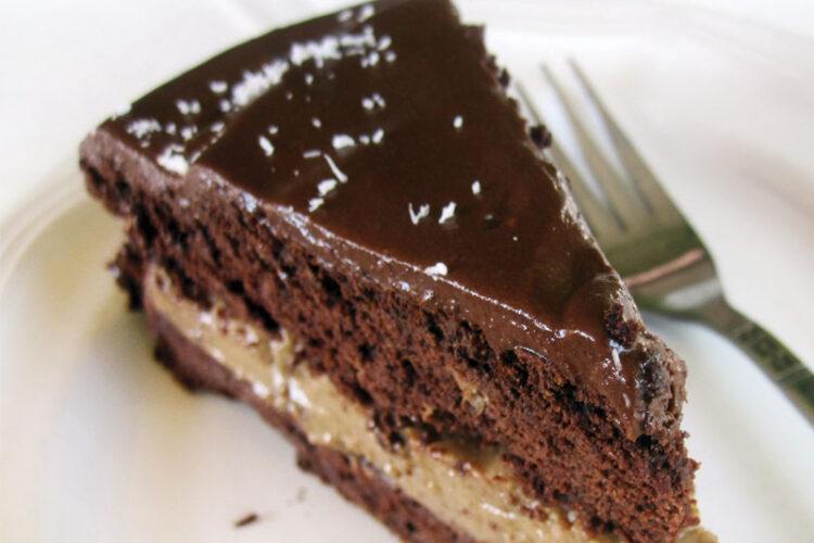 Mokka Schoko Torte Vegan Glutenfrei Rezept