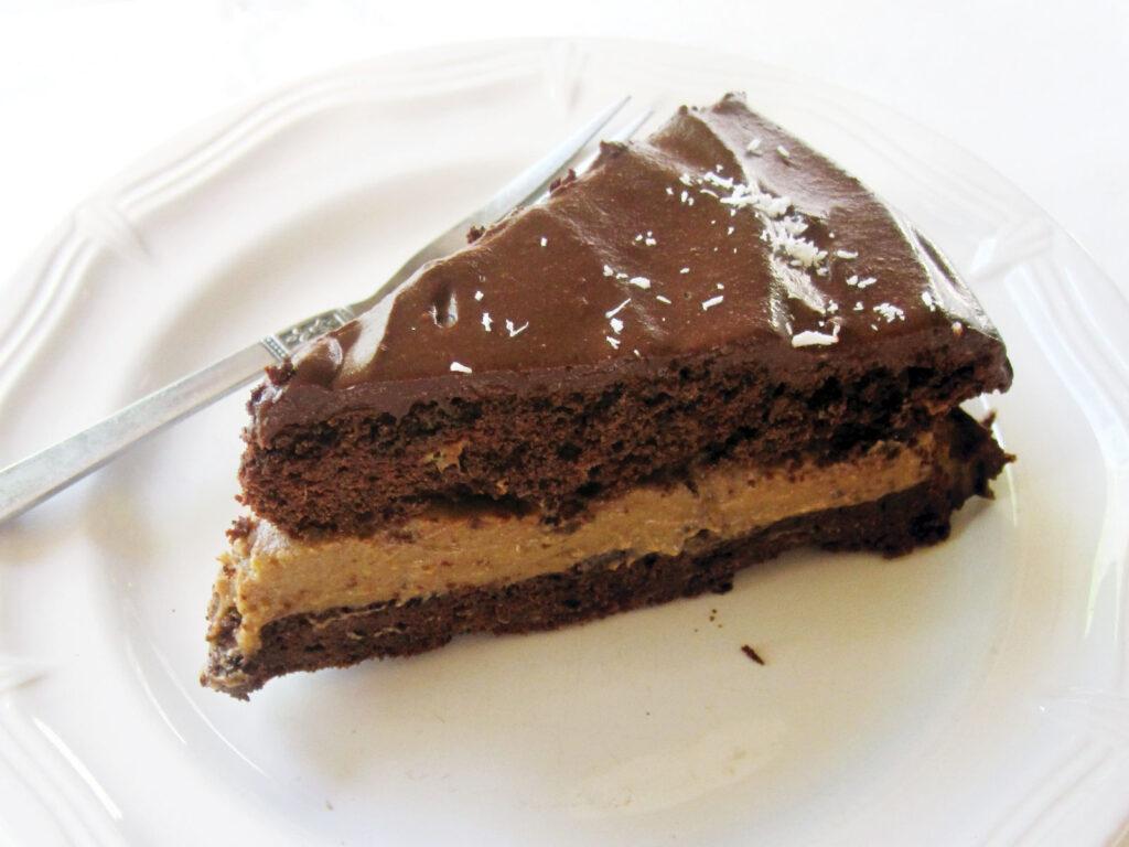 Vegan Gluten free Chocolate Coffee Cake Recipe 2