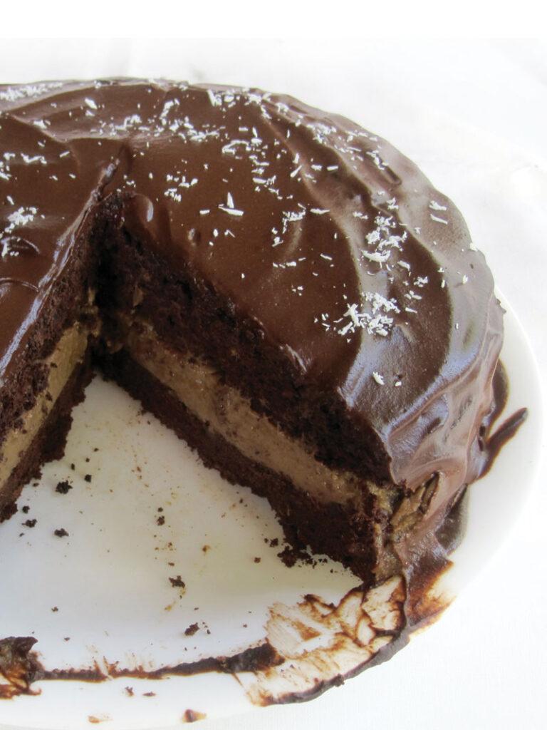 Vegan Gluten free Chocolate Coffee Cake Recipe 4