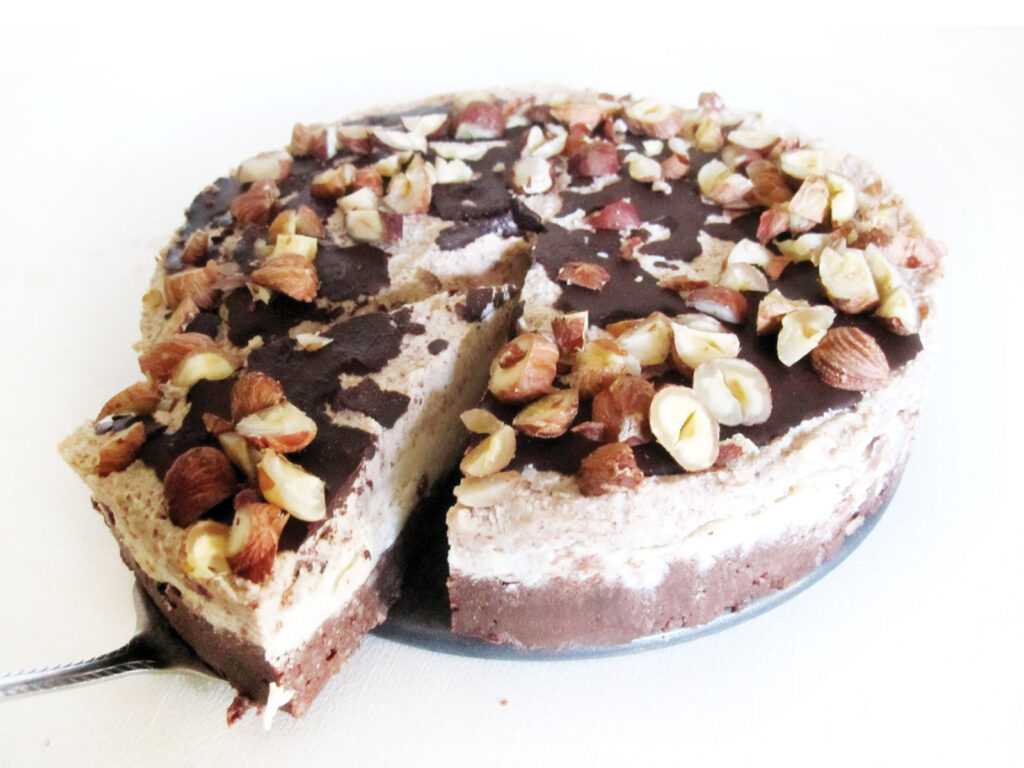 Vegan Gluten free Hazelnut Chocolate Cake Recipe 2