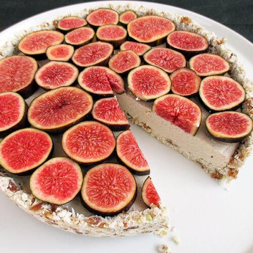 Vegane Glutenfreie Fruchtgesuesste Nix Backen Vanille Feigen Torte Rezept 3 1