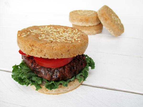 Vegane Glutenfreie Burger Broetchen Rezept