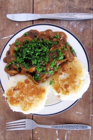Kartoffel Blumenkohl Bratlinge Vegan Glutenfrei 1