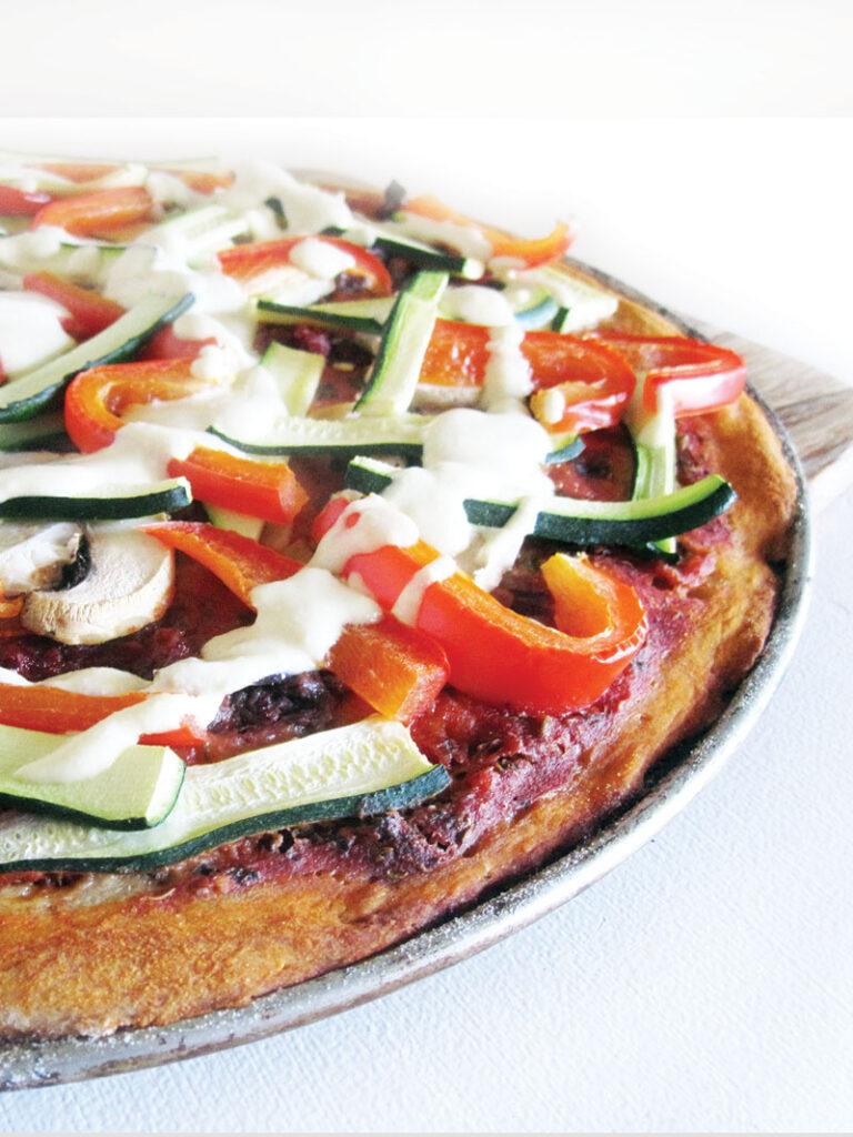 Pizza Dough Vegan Gluten-free Recipe
