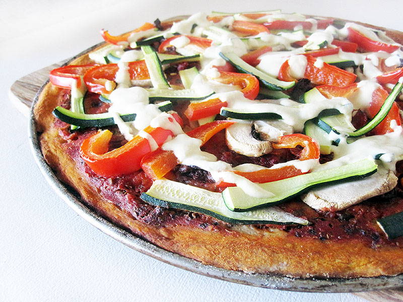 Pizza teig vegan Glutenfrei Ohne Hefe Rezept