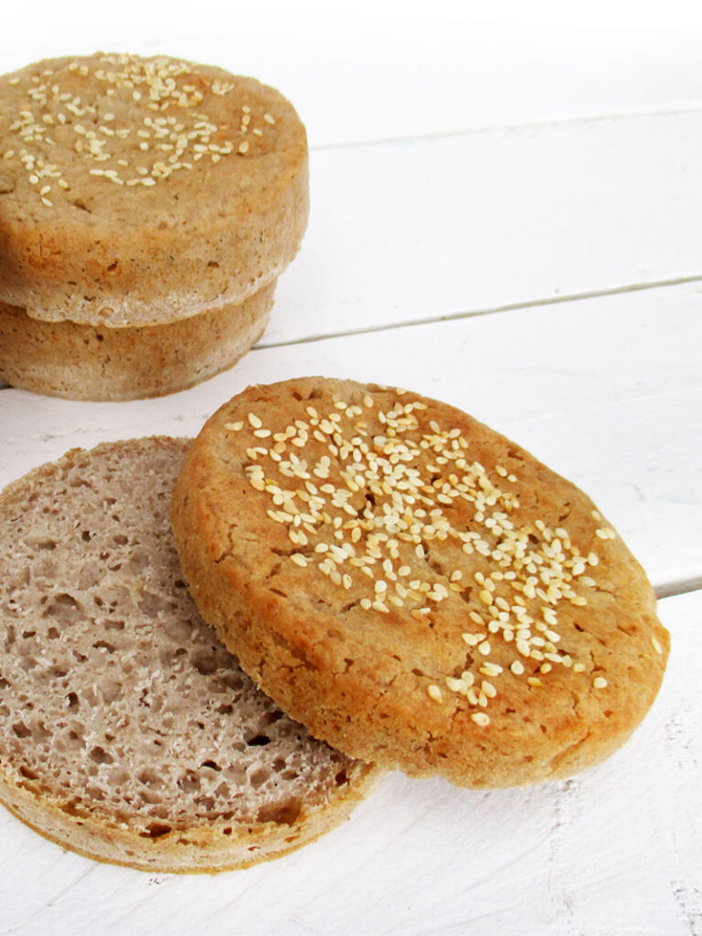 Vegan Gluten free Burger Buns Recipe 2