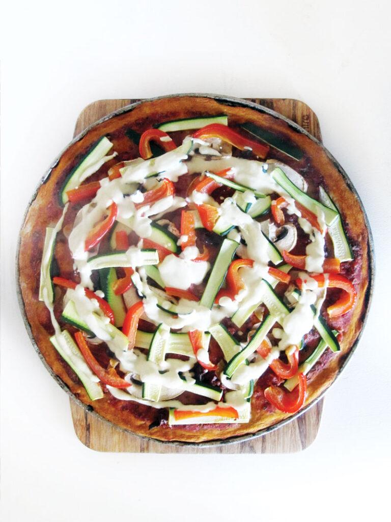Vegan Gluten free Sunflower Seed Pizza Dough