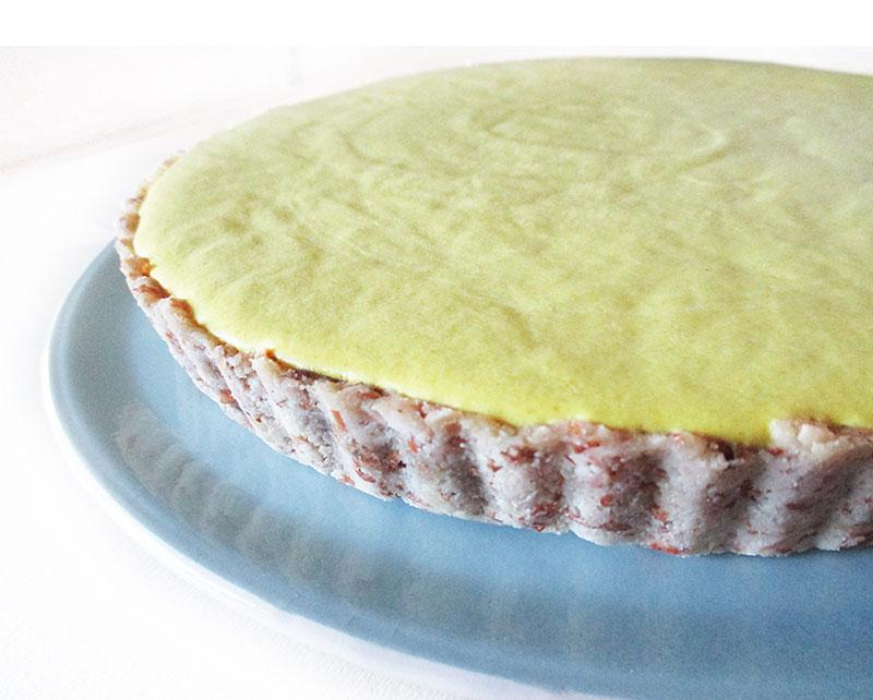No Bake Lemon Tart Vegan Gluten-free Fruit-Sweetened Recipe
