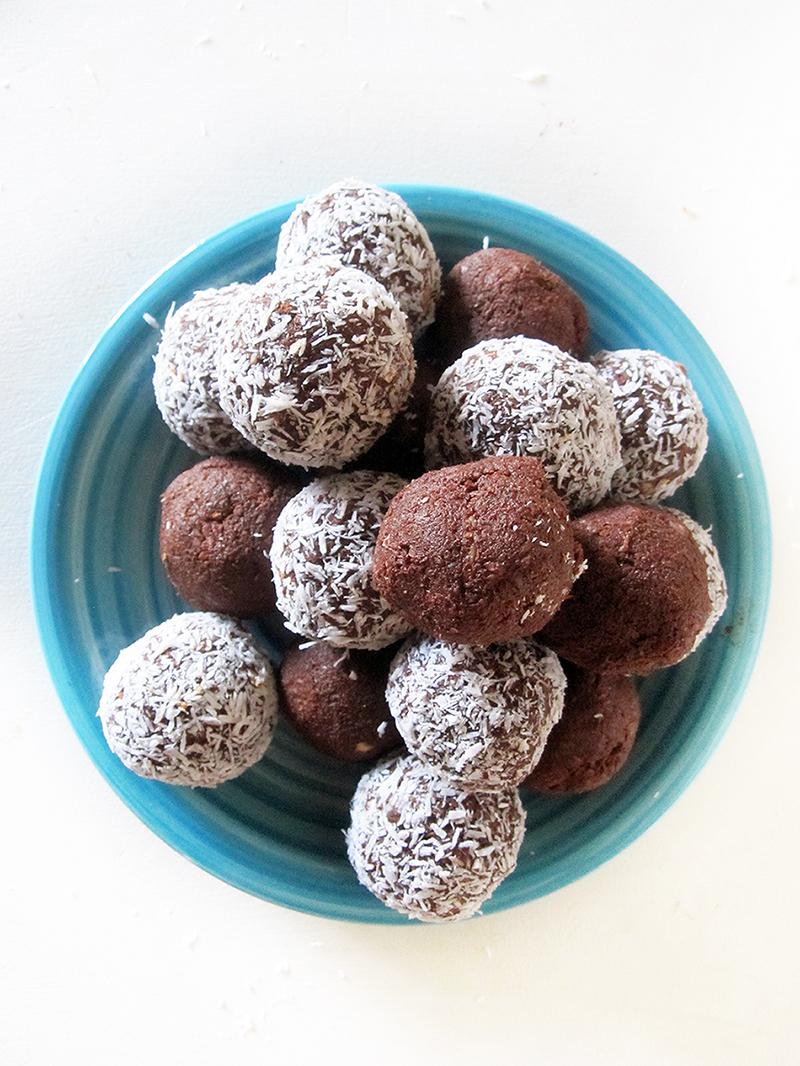 Nut free Chocolate Balls Vegan GF