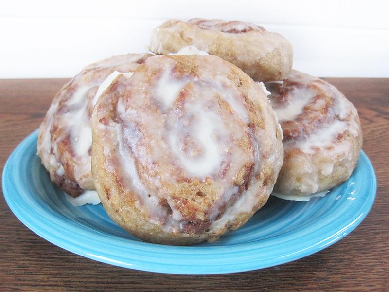 Vegan Gluten free Cinnamon Rolls Recipe