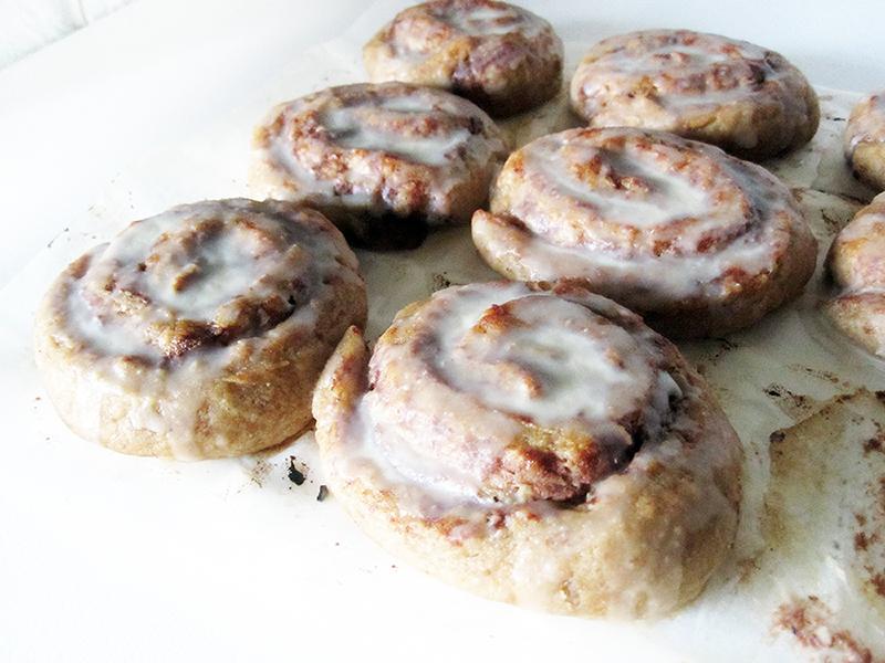 Vegan Gluten free Cinnamon Rolls