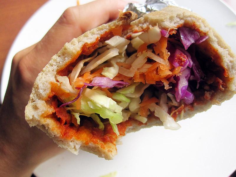 Vegan Gluten free Turkish Pizza Recipe 4
