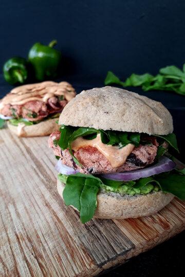 Vegan Glutenfrei Kidney Bohnen Burger Rezept 2 1