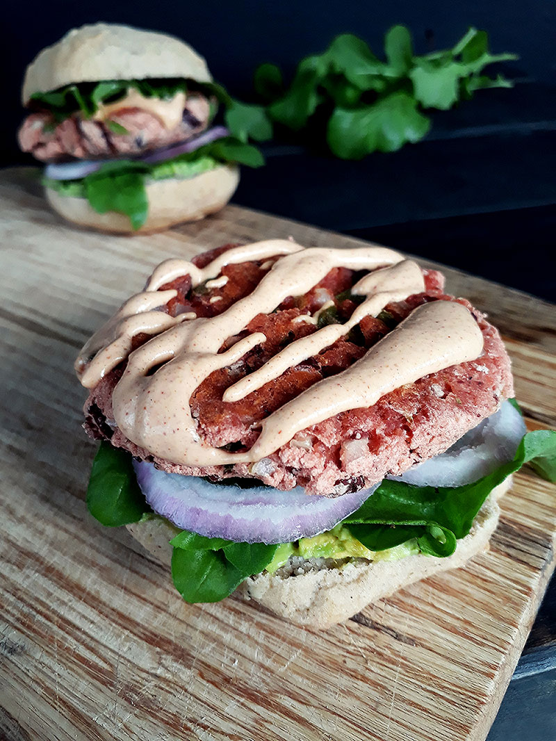 Vegan Glutenfrei Kidney Bohnen Burger Rezept