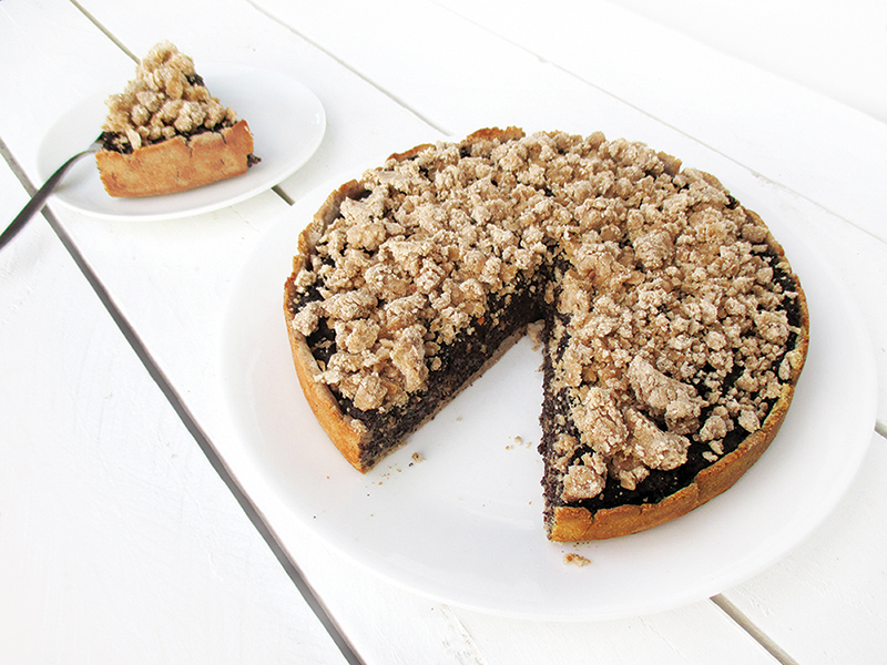 Vegan Gluten free Fruit Sweetened German Poppyseed Cake Recipe 4