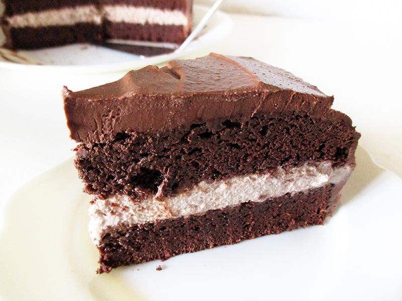 Vegan Gluten free Fruit Sweetened Hazelnut Chocolate Cake Recipe 1