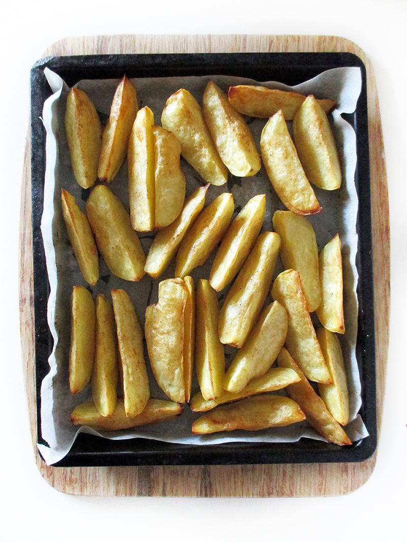 Vegan Gluten free Spicy Potato Wedges With Cashew Aioli Recipe 1