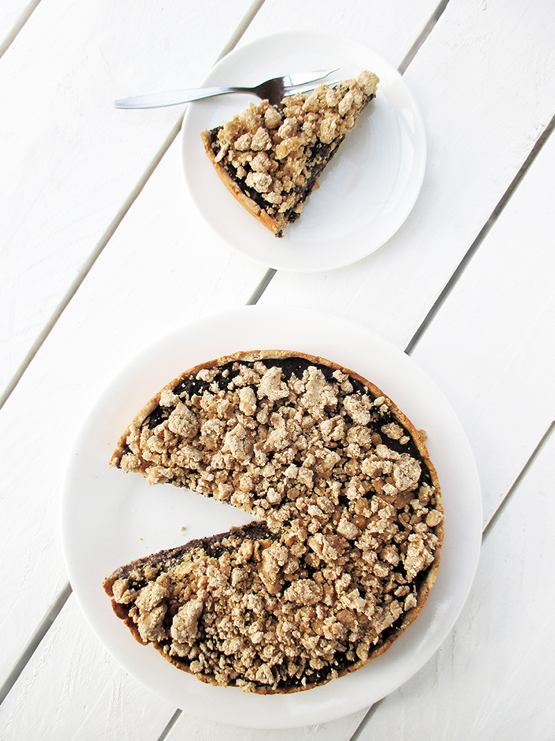 Vegan Glutenfrei Fruchtgesuesst Mohn Kuchen Rezept 3