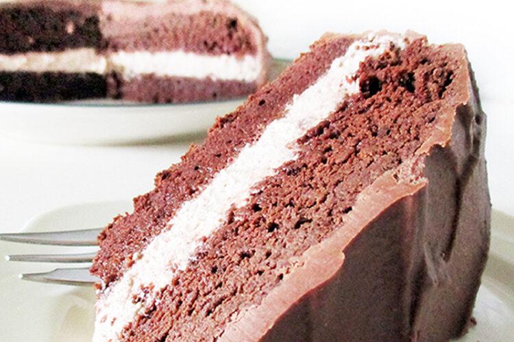 Vegane Glutenfreie Fruchtgesuesste Schoko Haselnuss Torte Rezept 2 1