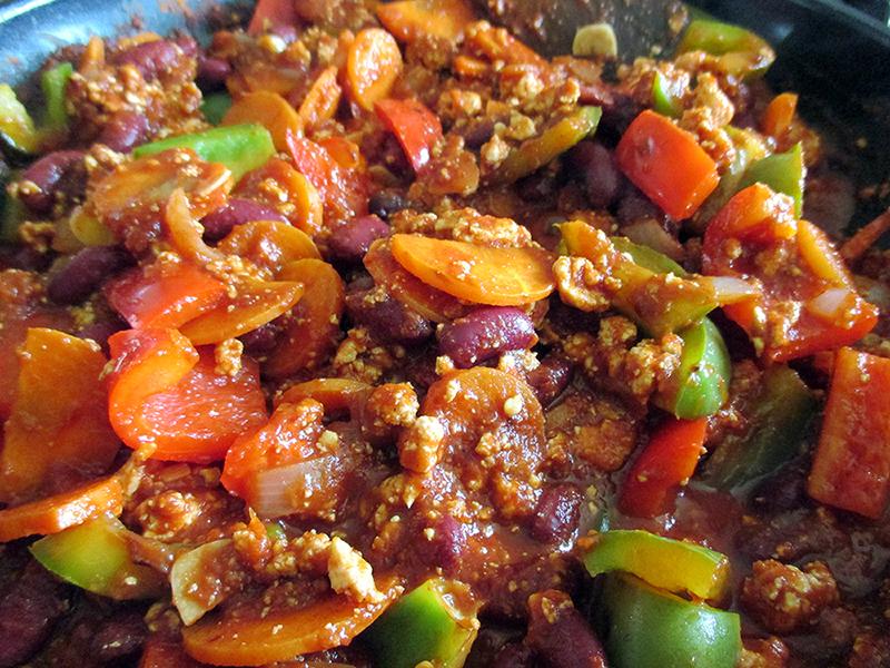 Vegan Glutenfrei Chili Con Tofu Rezept 2