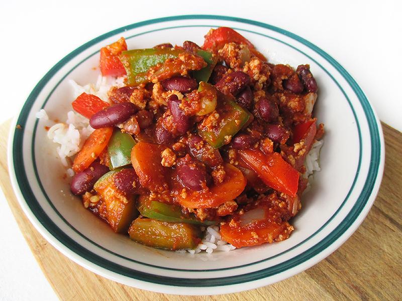 Vegan Glutenfrei Chili Con Tofu Rezept 3