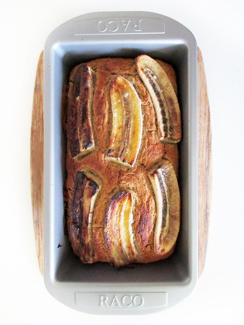Vegan Gluten free Fruit Sweetened Banana Loaf Recipe 1